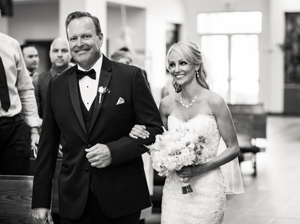 Father and bride - Three16 Photography