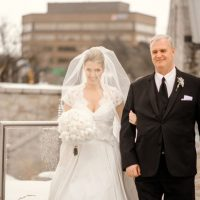 Father and bride picture - Melissa Avey Photography