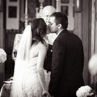 First wedding kiss - HydeParkPhoto