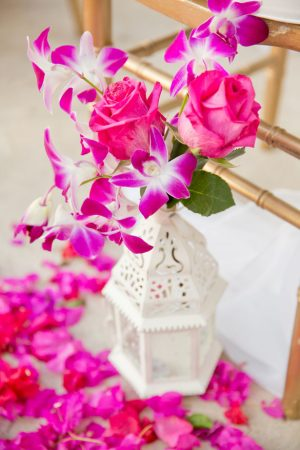 Floral wedding aisle ideas - Manuela Stefan Photography