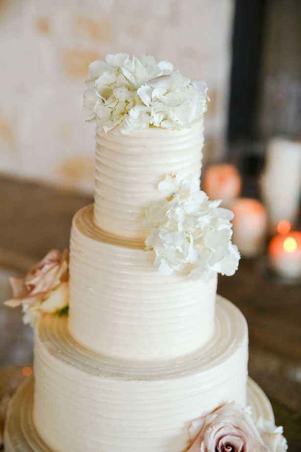 Floral wedding cake - HydeParkPhoto