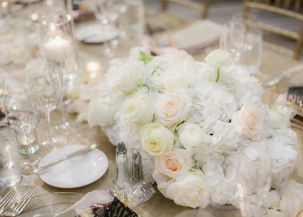 Floral wedding centerpiece - Clane Gessel Photography