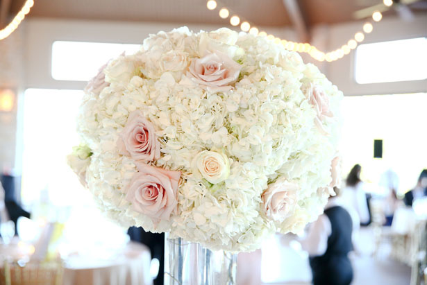 Floral wedding centerpiece - HydeParkPhoto