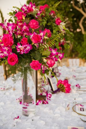 Floral wedding centerpieces - Manuela Stefan Photography
