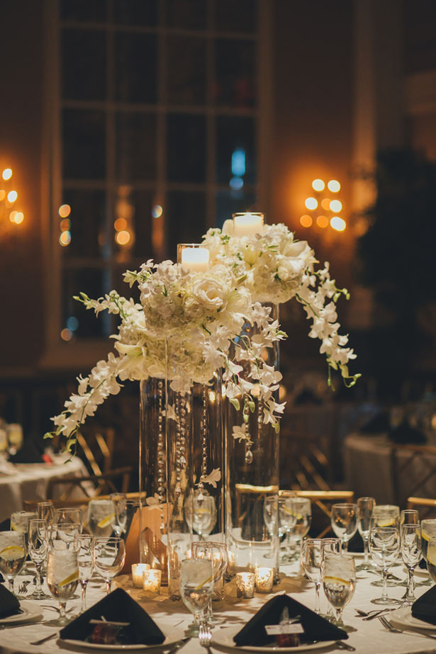 Floral wedding centerpieces - OLLI STUDIO