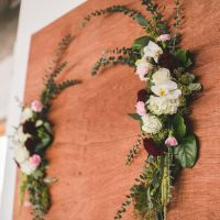 Floral wedding decorations - Alicia Lucia Photography
