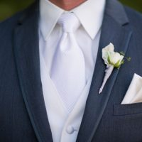 Groom boutonniere - Three16 Photography
