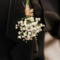 Groom boutonniere - Melissa Avey Photography