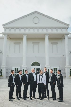 Groomsmen outdoor photos - OLLI STUDIO