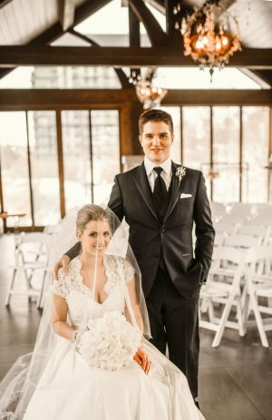 Indoor wedding picture ideas - Melissa Avey Photography
