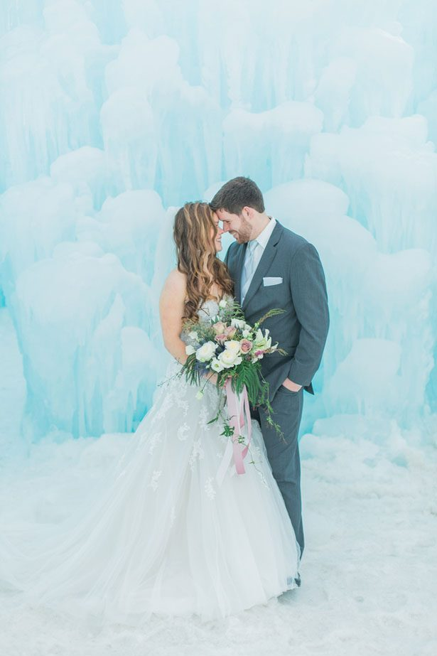Dreamy Ice Castle Wedding Inspiration