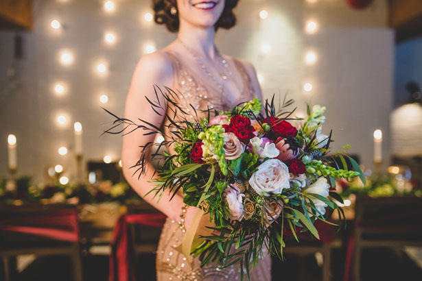 Organic wedding bouquet - Edward Lai Photography