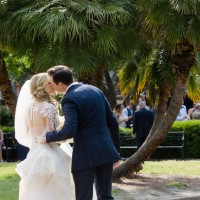 Outdoor bride and groom photo - Mark Eric Weddings