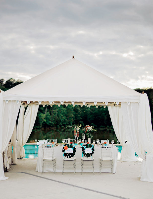 Outdoor tropical inspiring wedding - Andie Freeman Photography