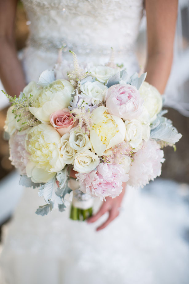 Pastel bridal bouquet - Three16 Photography