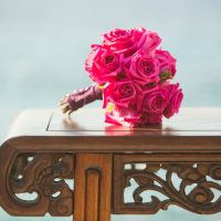 Pink bridal bouquet - Manuela Stefan Photography