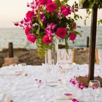Pink wedding decorations - Manuela Stefan Photography