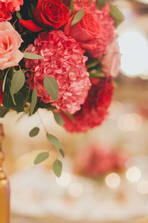 Pink wedding flowers - OLLI STUDIO