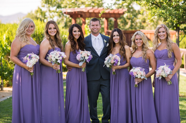 Purple Bridesmaid Dresses - Three16 Photography