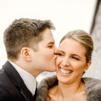 Romantic wedding picture - Melissa Avey Photography