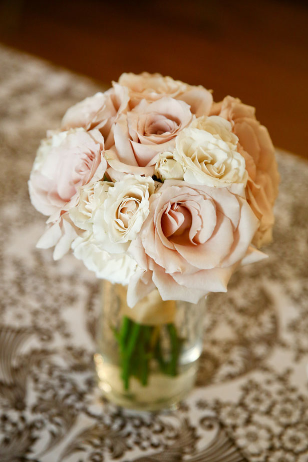 Rose wedding bouquet- HydeParkPhoto