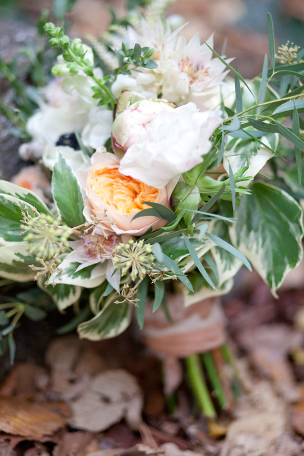 Springtime bridal bouquet - Claudia McDade Photography