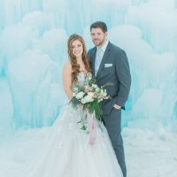 Stylish bride and groom - Andrea Simmons Photography LLC