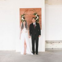 Stylish bride and groom - Alicia Lucia Photography