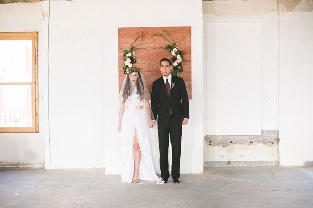 Bohemian Wedding Inspiration Meets Industrial Glam