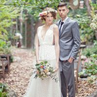 Stylish bride and groom - Claudia McDade Photography