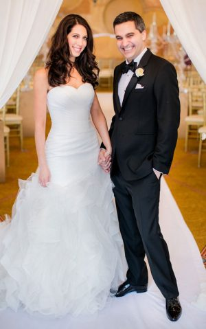 Stylish bride and groom - Clane Gessel Photography
