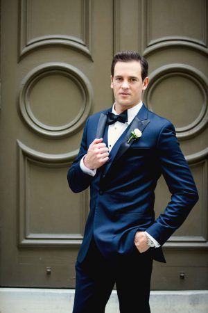 Stylish groom - Mark Eric Weddings