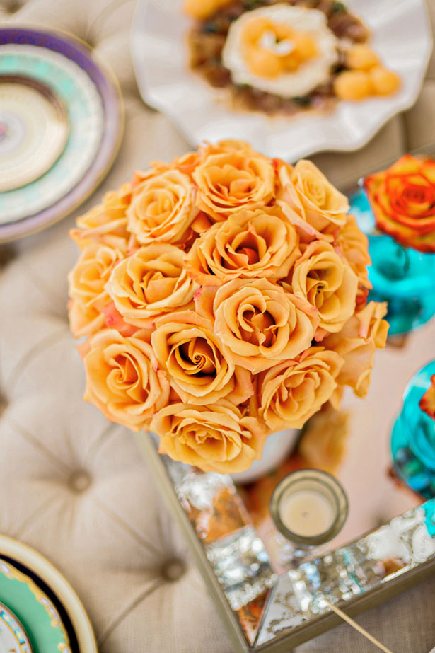 Summer wedding roses - Andie Freeman Photography