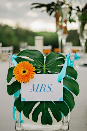 Mrs Wedding sign - Andie Freeman Photography