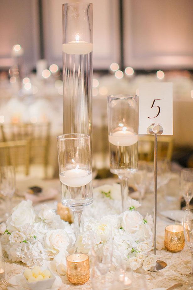 Tall wedding centerpiece - Clane Gessel Photography