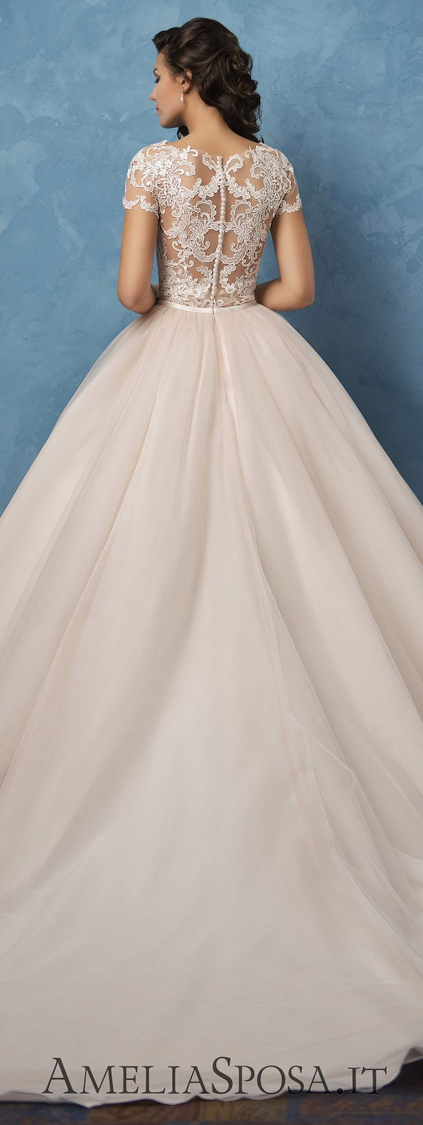 Best Wedding Dresses of 2017 - Wedding Dress by Amelia Sposa 2017 - Royal Blue Collection