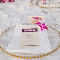 Wedding Menu - Manuela Stefan Photography