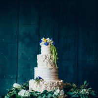 Wedding cake table - Derek Halkett Photography