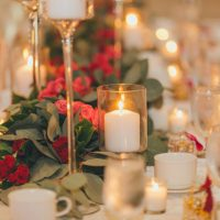 Wedding candles decor - OLLI STUDIO