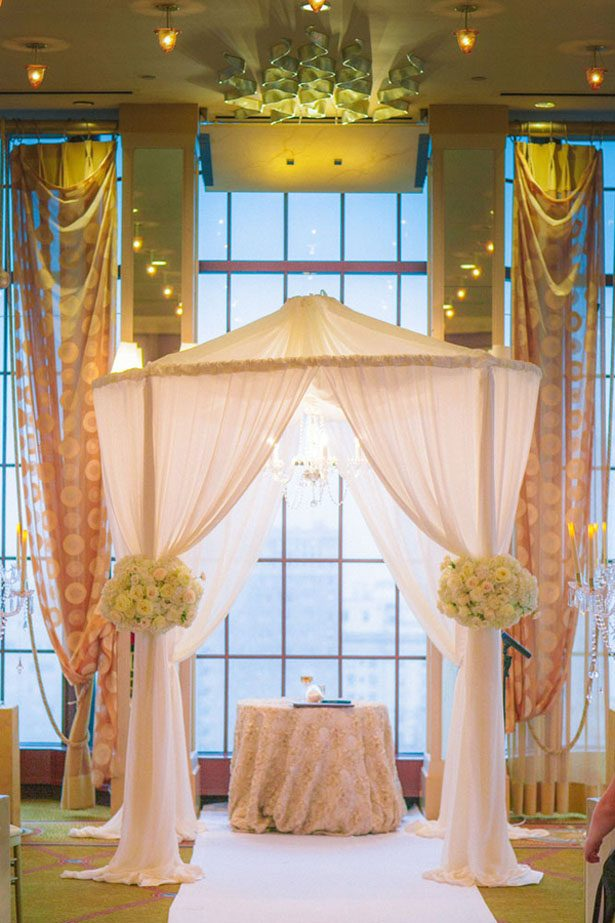 Wedding chuppah - Clane Gessel Photography