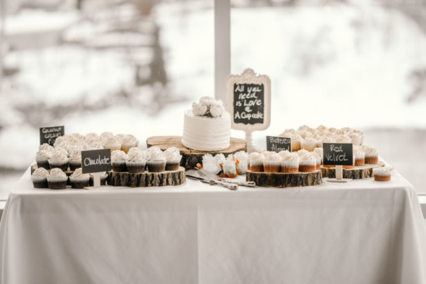 Wedding dessert table - Melissa Avey Photography