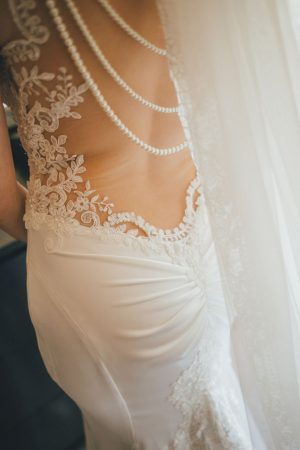 Wedding dress details - OLLI STUDIO