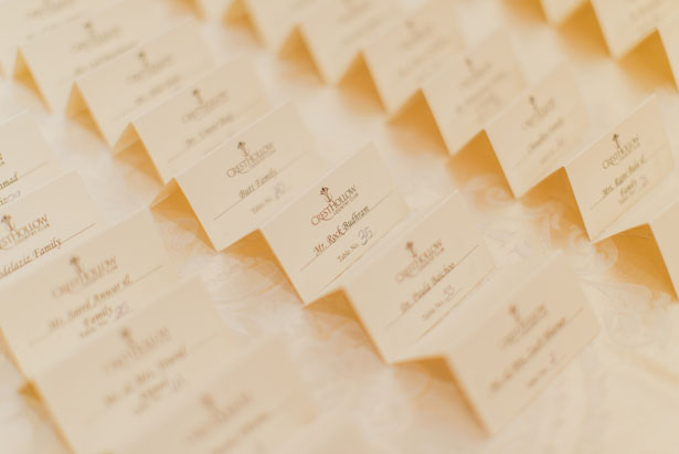Wedding escort cards - OLLI STUDIO