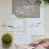 Wedding invitation suit - Andrea Simmons Photography LLC