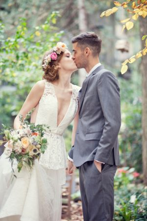 Wedding kiss - Claudia McDade Photography