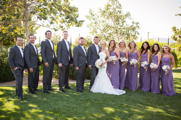 Wedding party picture - Three16 Photography