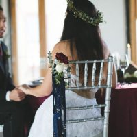 Wedding chair deor - Alicia Lucia Photography