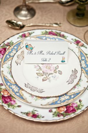 Wedding place card - Claudia McDade Photography