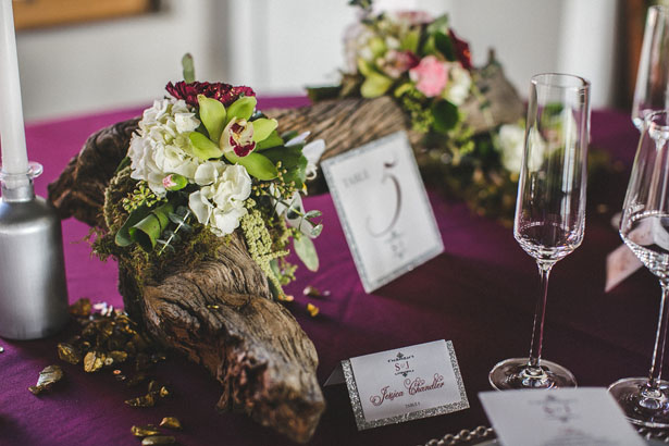 Wedding table decor - Alicia Lucia Photography
