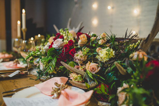 Wedding table decor - Edward Lai Photography